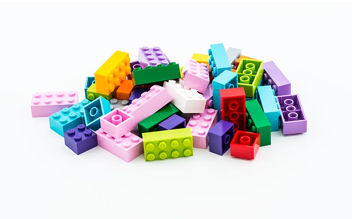 packaging ecosostenibile lego