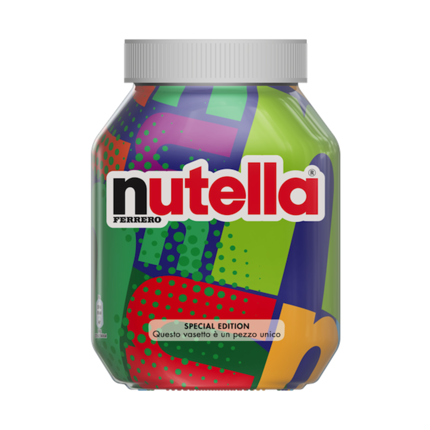 packaging nutella unica
